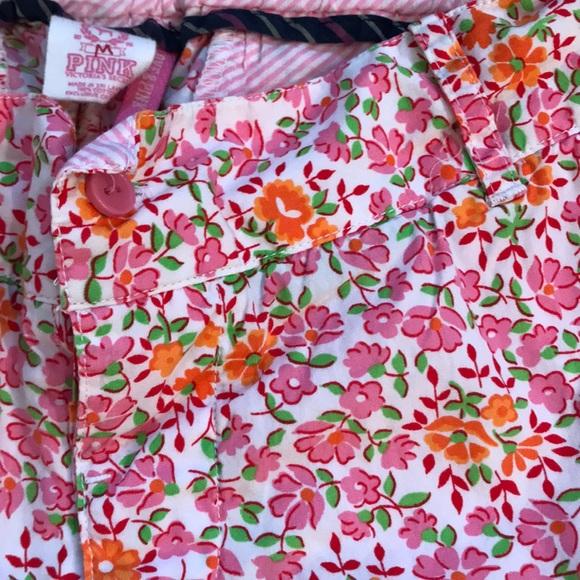 PINK Victoria's Secret Pants - 3/$30 - PINK Floral Lazy Day Shorts